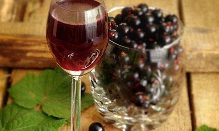 Наливка из черной смородины по домашнему — рецепт