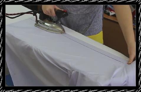 Как правильно отутюжить рубашку к празднику 06