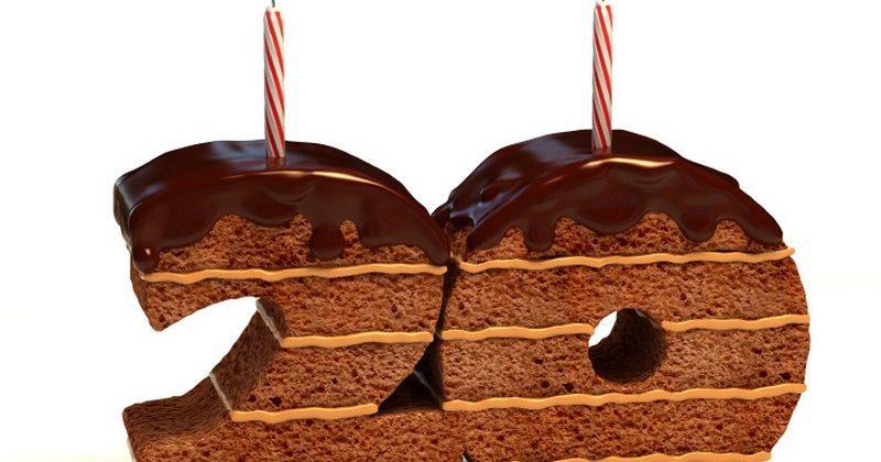 Поздравления с юбилеем — 20 лет