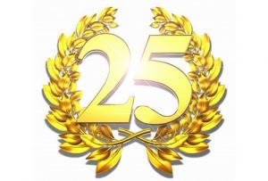 Поздравления с 25-ти летним юбилеем