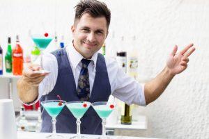 Поздравление с днём рожденья для бармена