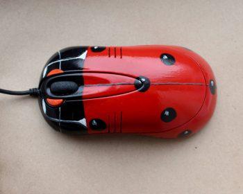 Подарок своими руками — декор компьютерной мышки