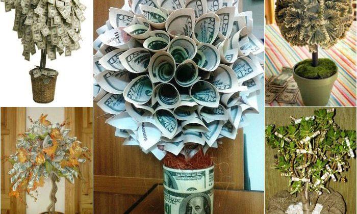 Мастер – класс «Денежное дерево» как подарок