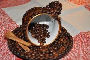 Подарок из зерен кофе