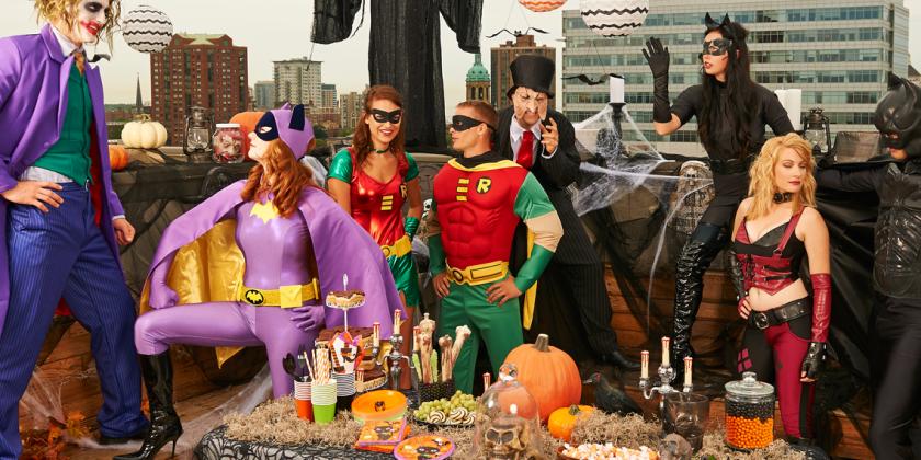 Вечеринка тема Супергерои