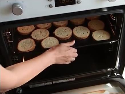 Гренки для бутерброда фото