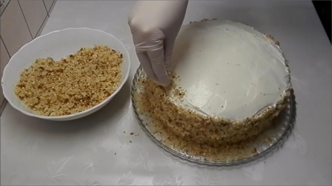 Украшаем торт