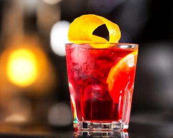 Берри Негрони — рецепт коктейля