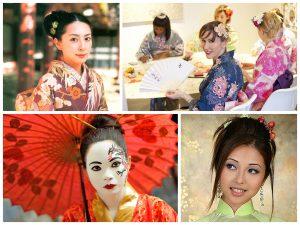 Девичник в стиле Японские гейши