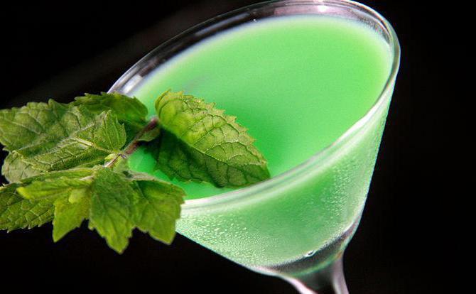 Кузнечик — рецепт коктейля