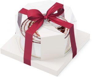 Торт бисквитный подарочный