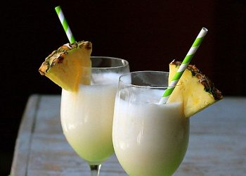 Пина колада — рецепт коктейля
