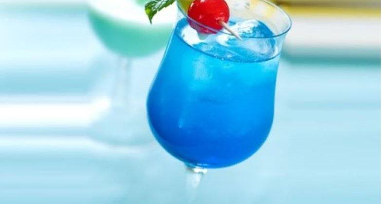 Голубой поезд — рецепт коктейля