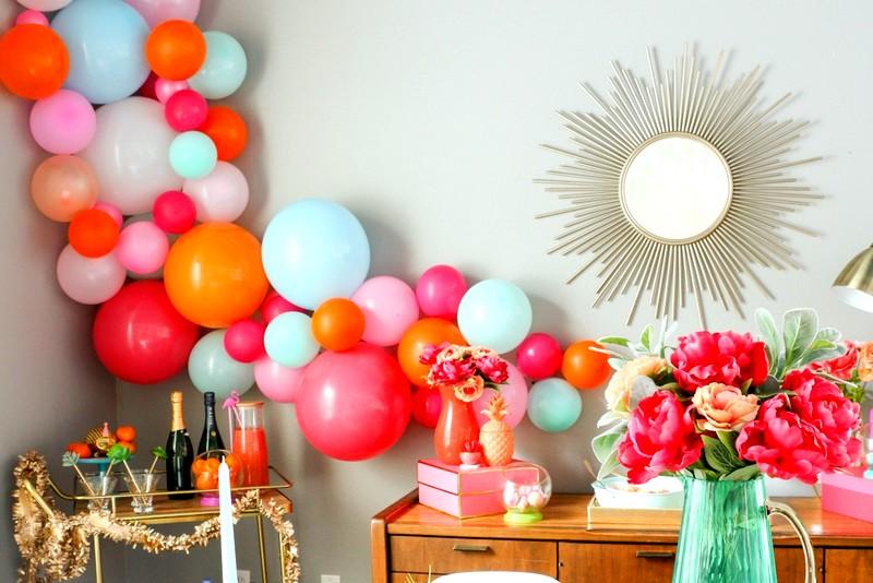 Оформление праздника воздушными шарами