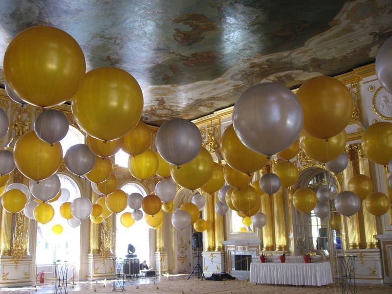 Идеи для украшения свадебного торжества воздушными шарами