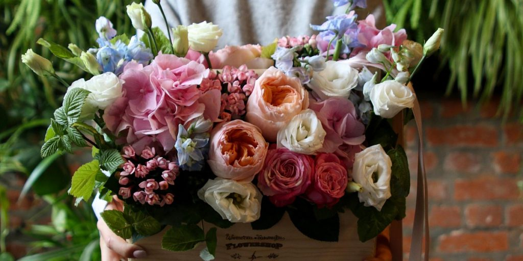 Как подарить цветы на расстоянии