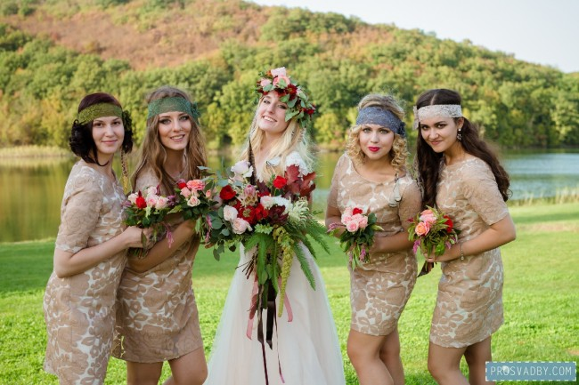 Как выбрать стиль свадьбы
