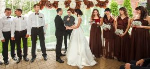 свадьба в шоколадном стиле