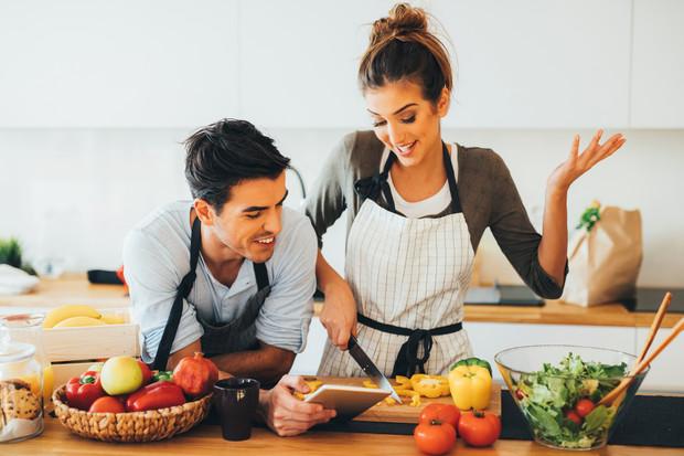 Фотосессия Love Story на кухне