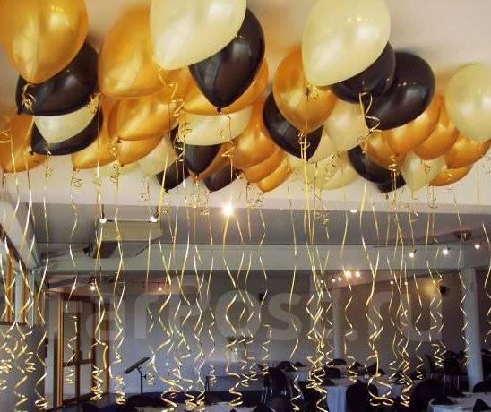 Как украсить праздник шарами?