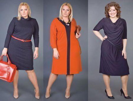 Как правильно подобрать платье для девушки с пышными формами?