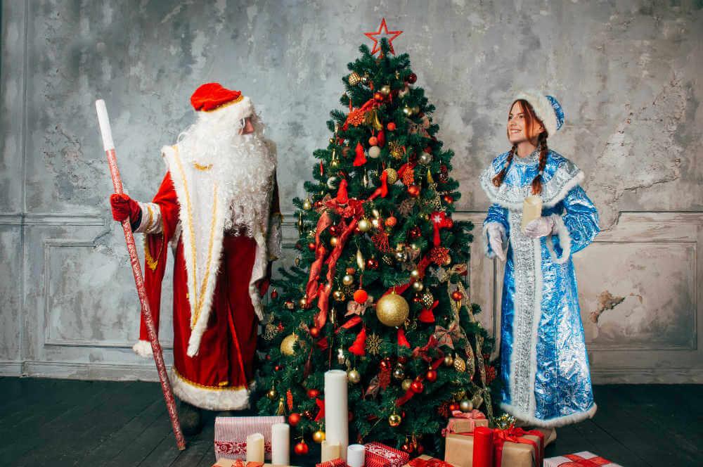 Вызов Деда Мороза и Снегурочки в офис